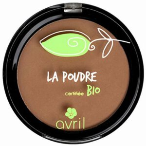 Avril Cosmetics Organic Pressed Powder Compact Foundation - Cuivre-0