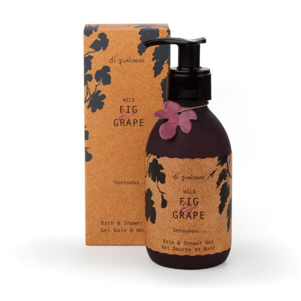 Di Palomo Natural Bath & Shower Gel Wild Fig & Grape 225ml-0