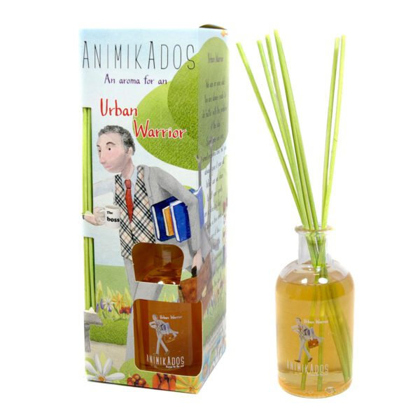 Animikados Reed Diffuser 100ml - fragrance for Urban Warrior-0
