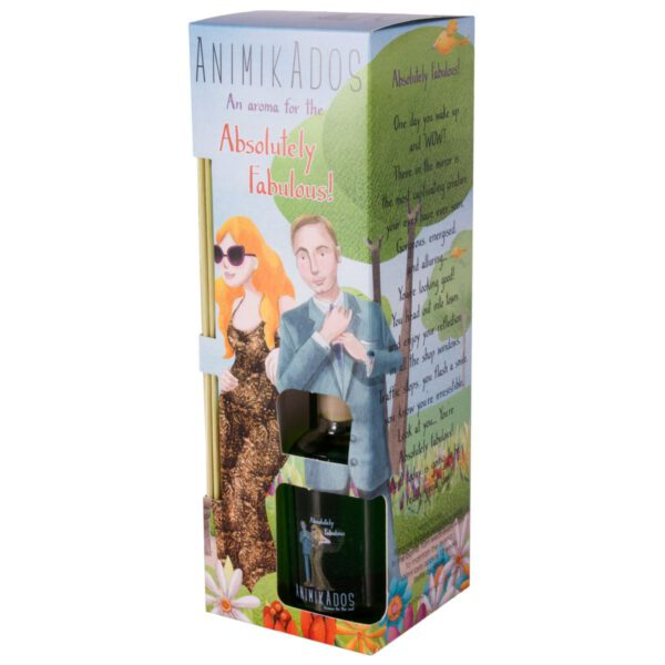 Animikados Reed Diffuser 100ml - for Absolutley Fabulous-0