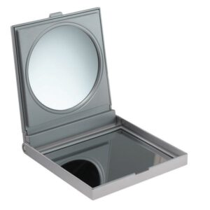 FMG Free Standing Travel Mirror in Case 5X Magnifying -