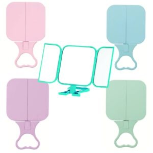 Danielle 'Debut' Free Standing or Hand Held Travel Mirror -0