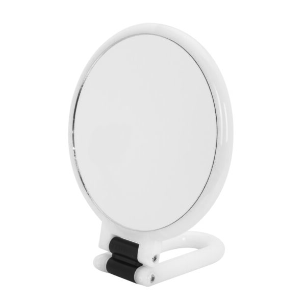 Danielle Hand Held / Free Standing Circular Mirror 10X Magnifying Colour Choice-3540