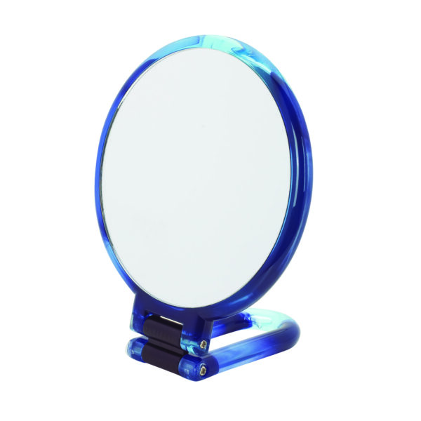 Danielle Hand Held / Free Standing Circular Mirror 10X Magnifying Colour Choice-3539