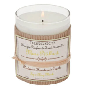 Durance de Provence Hand Crafted Perfumed Candle - Sparkling Musk-0