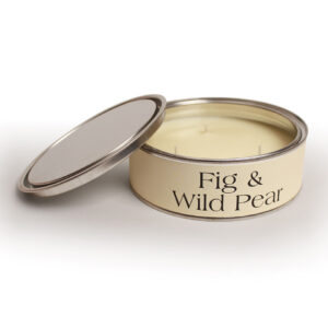 Pintail Candles Large 3 Wick Scented Candle Tin - Fig & Wild Pear-0