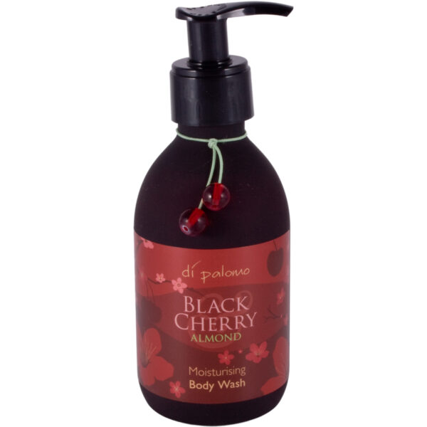 Di Palomo Luxury Moisturising Shower Gel Body Wash 225ml - Black Cherry and Almond-0