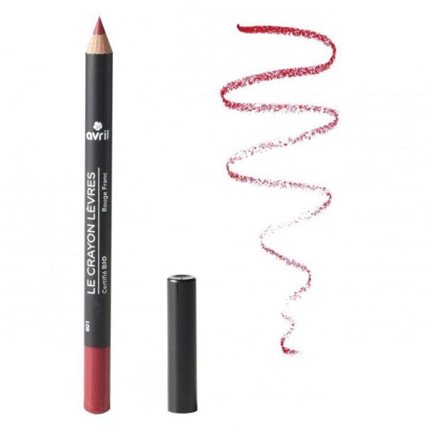 Avril Certified Organic Lip Liner Pencil - Rouge Franc-0