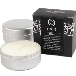 Melt Travel Tin Hand Poured Scented Candle - More-0