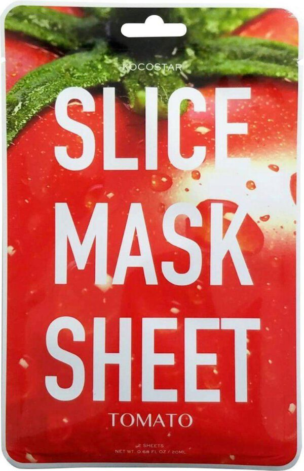 Kocostar Tomato Slice Mask - Contains 12 Patches-0