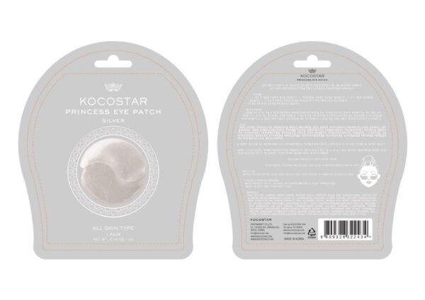 Kocostar Princess Under Eye Patch Silver - 1 Pouch-8928