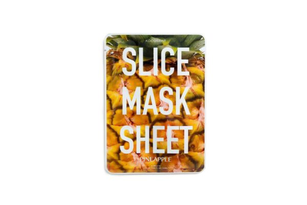 Kocostar Pineapple Slice Mask - Contains 12 Patches-0