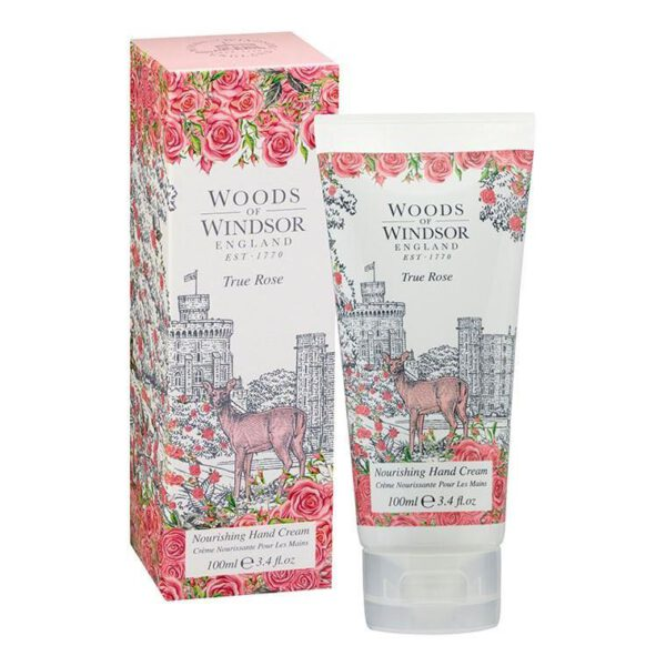 Woods of Windsor Hand Cream 100ml - True Rose-0