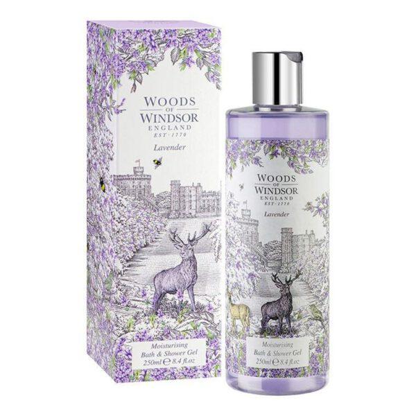 Woods of Windsor Bath & Shower Gel 250ml - Lavender-0