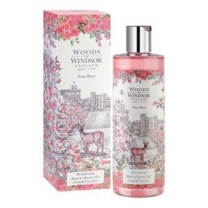 Woods of Windsor Bath & Shower Gel 250ml - True Rose-0