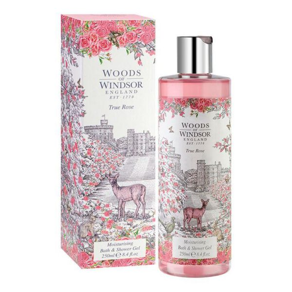 Woods of Windsor Bath & Shower Gel 250ml - True Rose-0