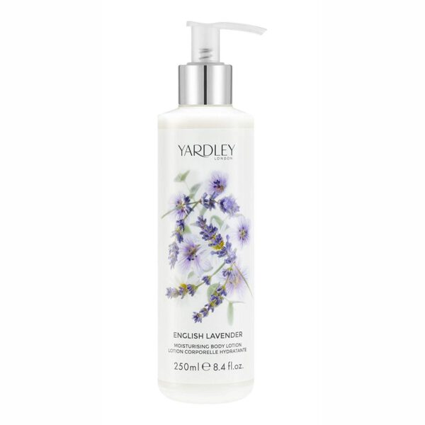 Yardley London Moisturising Body Lotion Lavender - 250ml-0