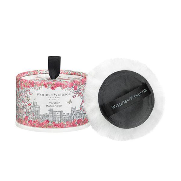 Woods of Windsor Dusting Powder 100g - True Rose-0