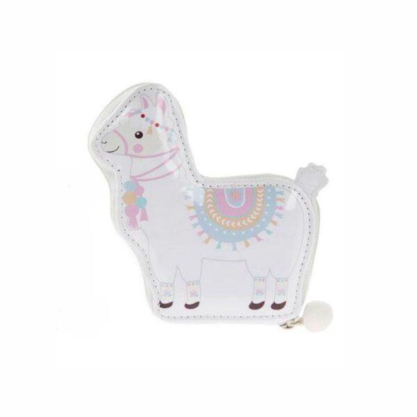 5 Piece Manicure Set - Llama Pink & White-0