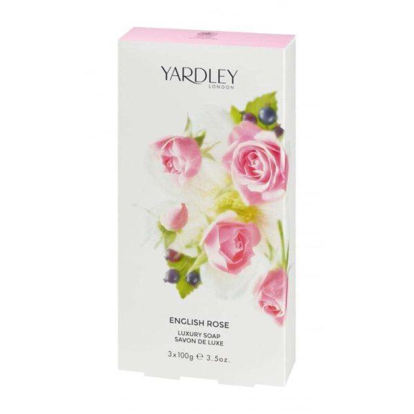 Yardley London English Rose Luxury Soap - 3x100g-0