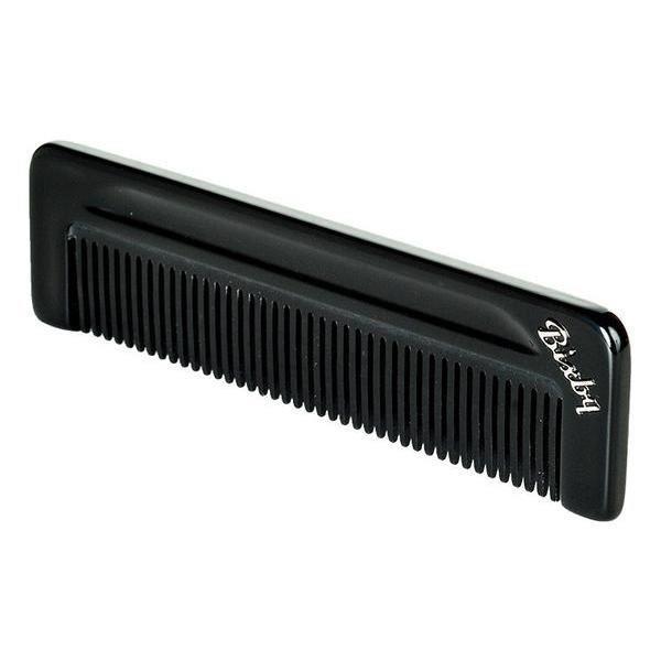Bixby Acetate Narrow Tooth Comb - Black-0