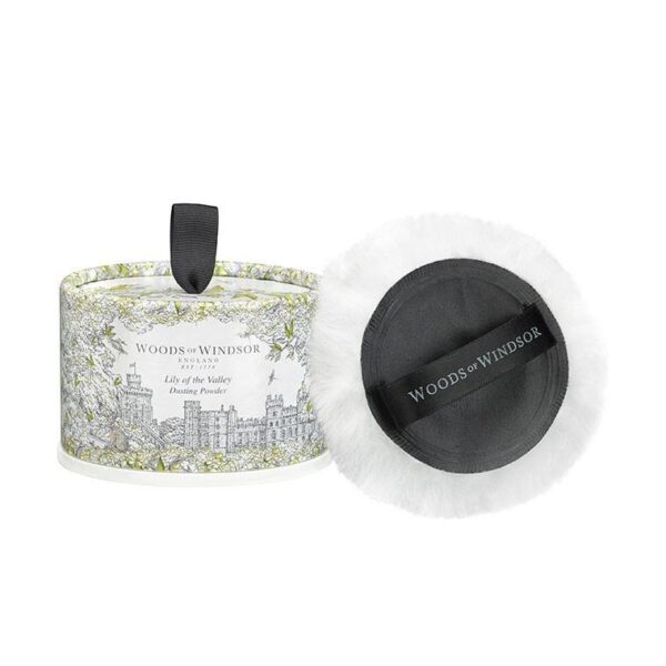 Woods of Windsor Dusting Powder 100g - Lily of the Valley-0
