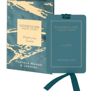 Stoneglow Luna Perfume Card - Papyrus Woods & Jasmine-0