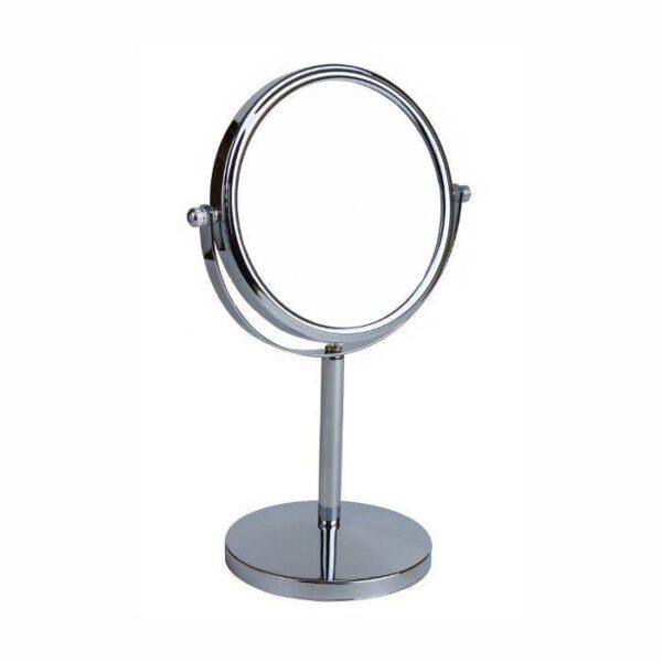 FMG Pedastal 15cm Mirror True Image & 5x Magnification - Chrome-0