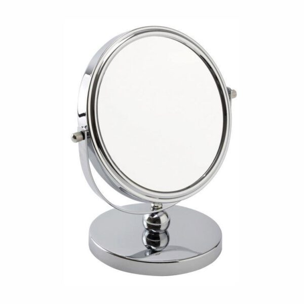 FMG Stand 15cm Mirror True Image & 5x Magnification - Chrome-0