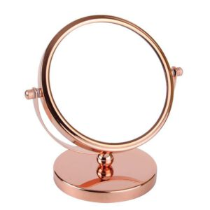 FMG Stand 15cm Mirror True Image & 5x Magnification - Rose Gold-0