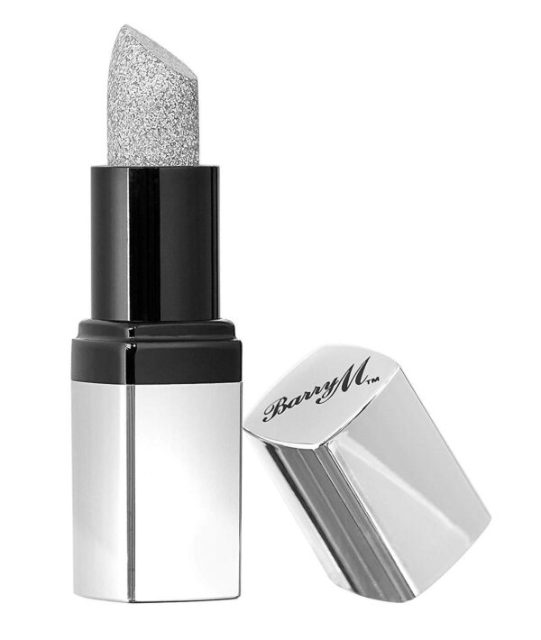 Barry M Glitzstick Silver Glitter Lip Paint-0