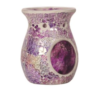 Aromatize Purple Crackle Diamond Melt Burner 14cm-0