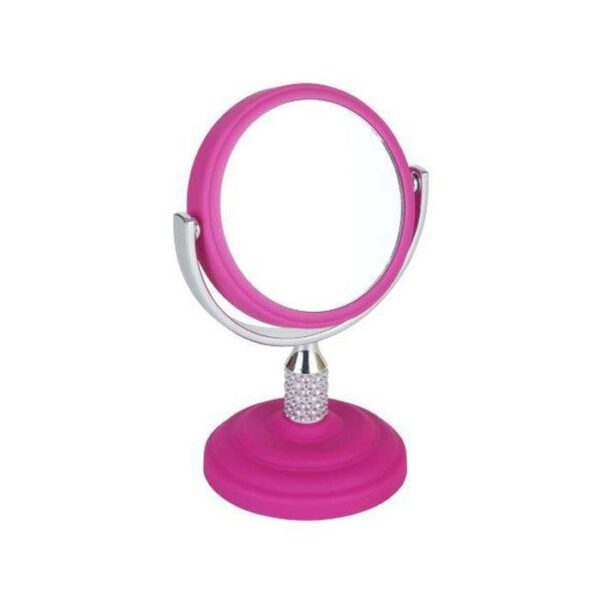 FMG Mini Mirror 5x Magnification - Pink-0