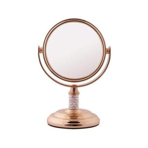 FMG Mini Mirror 5x Magnification - Rose Gold-0