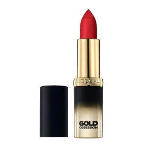 l'oreal gold obsession lipstick rouge gold