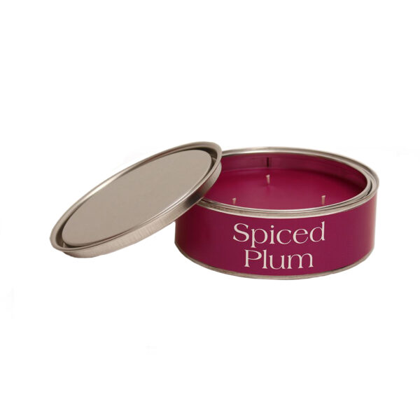 Pintail candle spiced plum